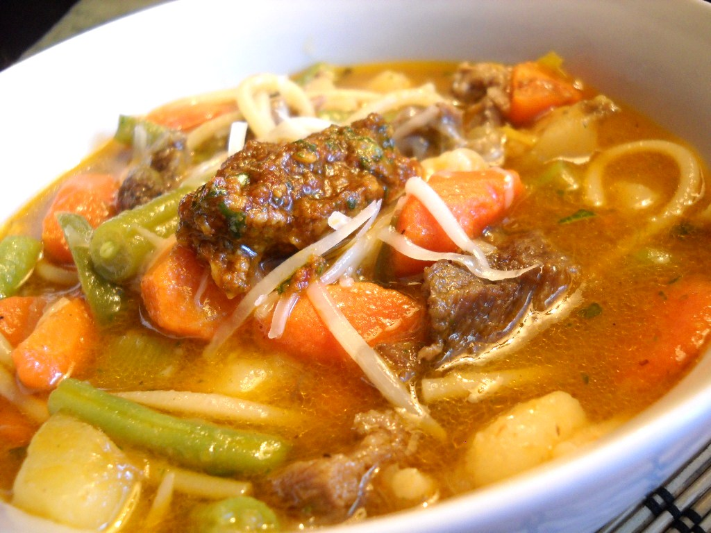 Provençal Vegetable Beef Soup – Soupe au Pistou (adapted from ...