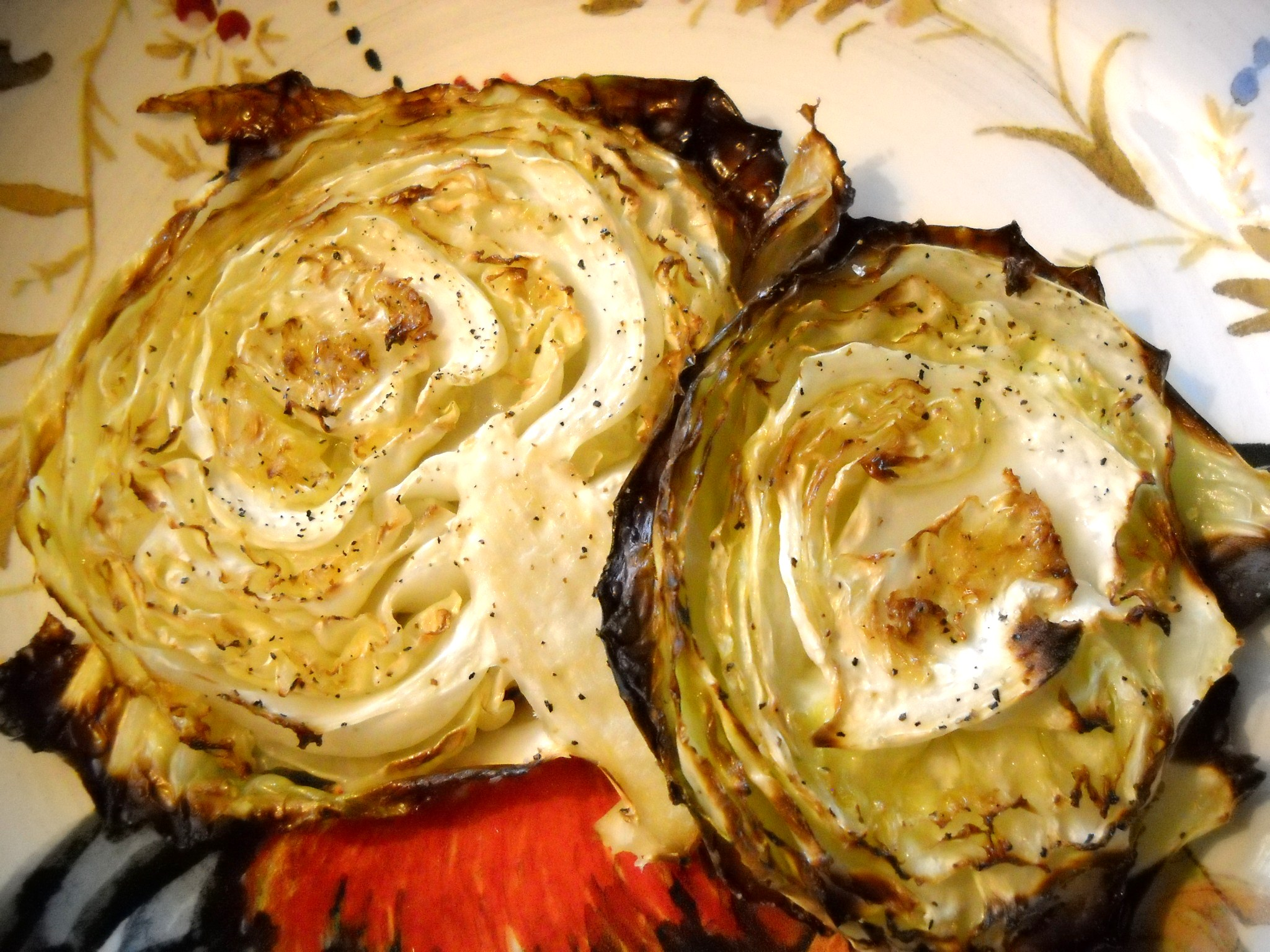 Roasted Cabbage Wedges (recipe