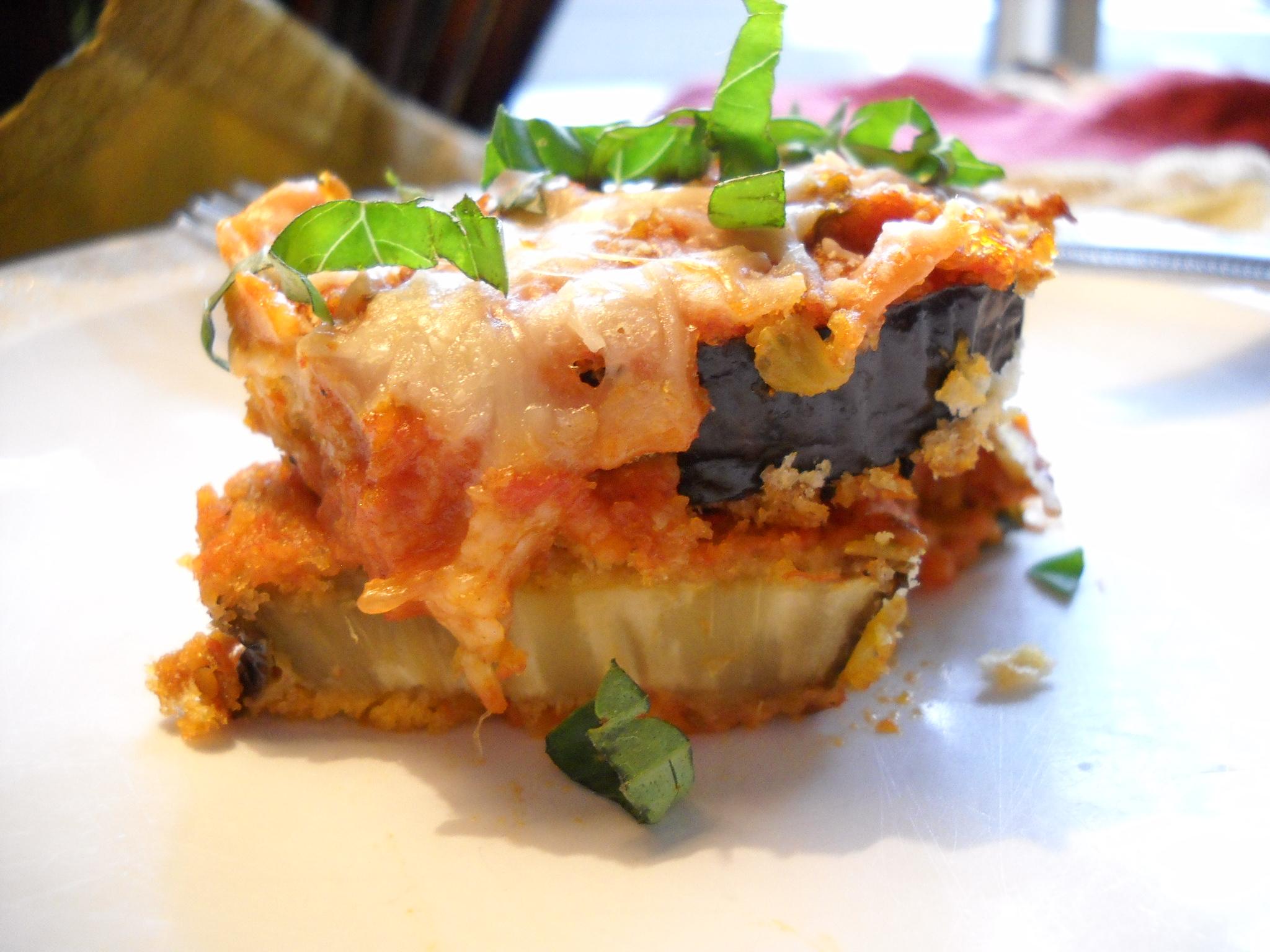 Lighter Eggplant Parmesan | Harvest Fare