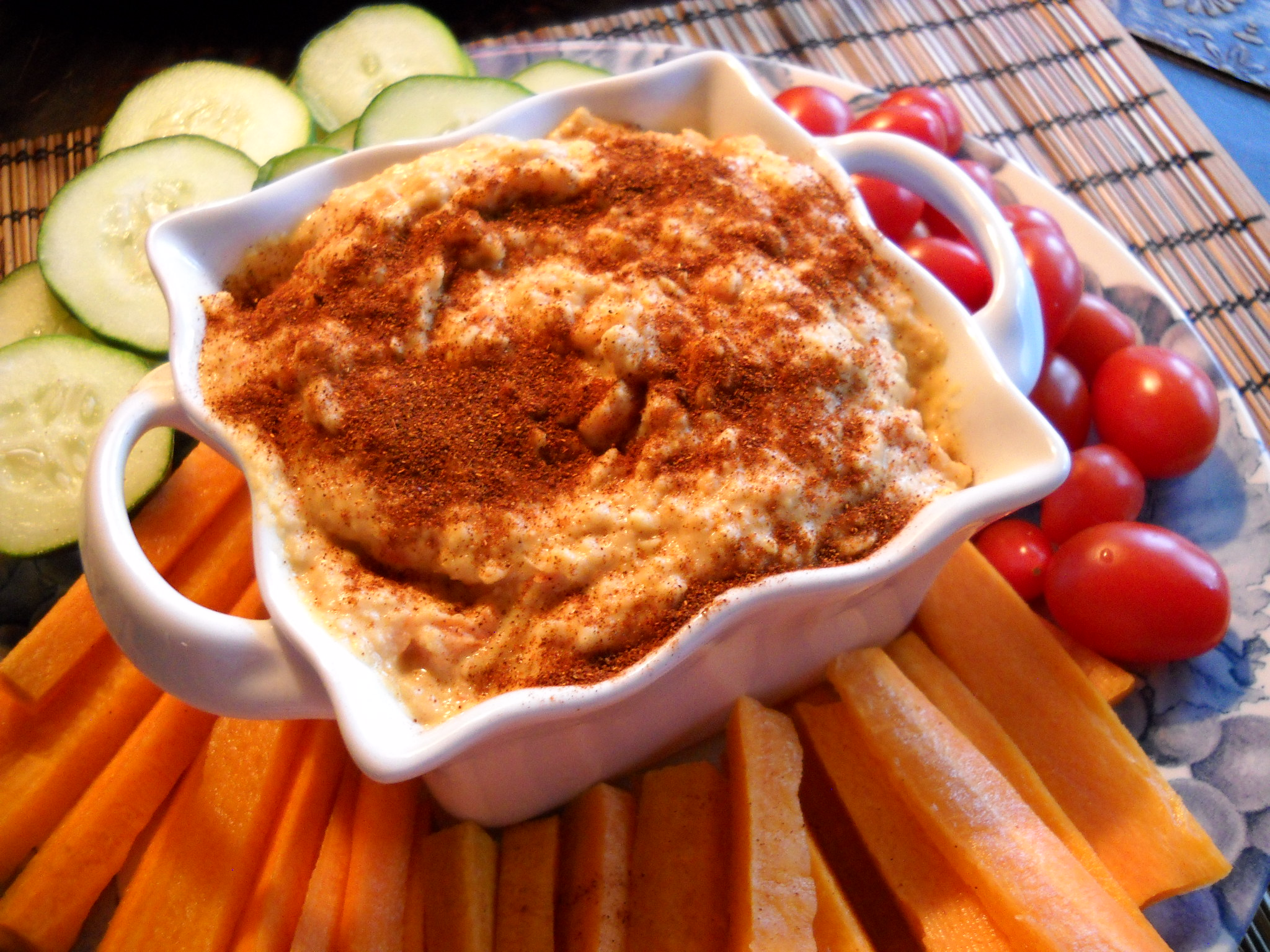 Roasted red pepper hummus harvest fare for Roasted red peppers hummus
